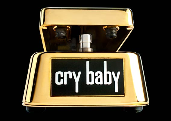 Dunlop Cry Baby Gold 50th Anniversary