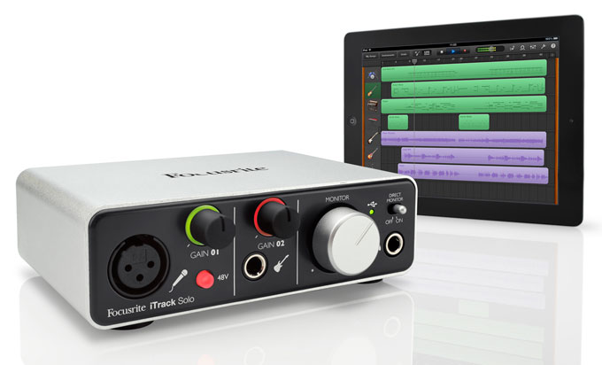 Focusrite iTrack Solo Edition with Lightning