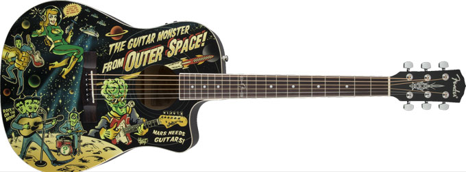 Fender Vince Ray Outer Space Bucket Dread