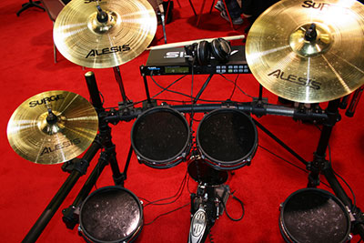 Digitale drumset