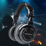New Denon HP DJ-Headphones